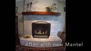 fireplace whitewash youtube
