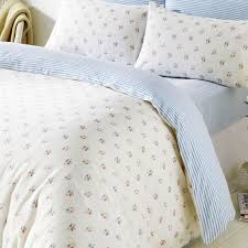 Brushed Cotton Duvet Cover Double Molly Blue Flowers King Size Duvet 100 Brushed Cotton Ditsy