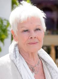 judi dench hairstyle front and back of head dame judi dench reveals why she ll never have another husband