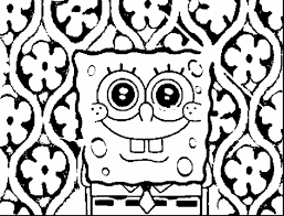 spongebob coloring page sponge bob pages awesome with photos of