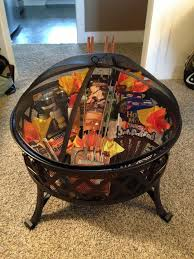 Housewarming Basket Silent Auction Basket Fire Pit Roasting Put Your