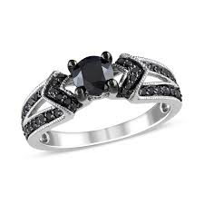 black wedding rings for black diamonds collections zales