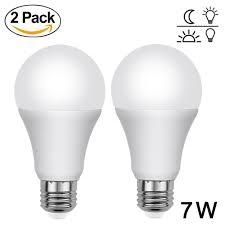 Westek Slc6cbc 4 100w Programmable by Aukora Dusk To Dawn Light Bulbs 7w E26 E27 Sensor Lights Bulbs