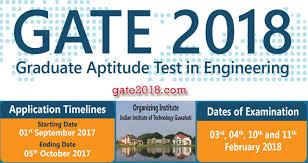pattern of gate exam changes in gate 2018 syllabus eligibility goaps registration