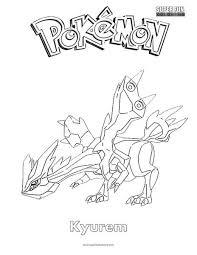 pokemon coloring pages white kyurem pokémon kyurem coloring page super fun coloring