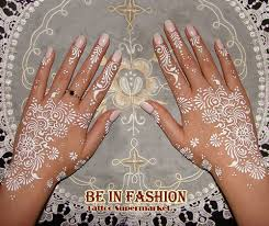 new white henna tattoo paste cone women lady bride party wedding