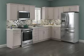 menards stock white kitchen cabinets cardell cornerstone collection lakeridge 19 l kitchen