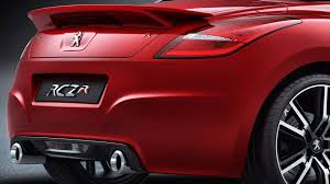 peugeot rcz gallery more images of peugeot rcz r