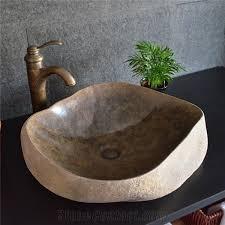 Bathroom Sink Stone Antique Stone Basin Irregular Sink Natural Stone Basin Kitchen
