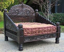 triple arch back carved jhula seat worldcraft industries