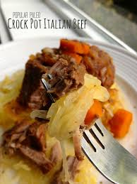 paleo crock pot italian beef recipe popular paleo