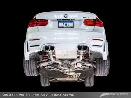 Bmw I8 Exhaust - awe tuning f8x m3 m4 exhaust suite switchpath u0026 new track edition