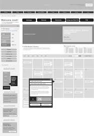 awesome 20 examples of web and mobile wireframe sketches awesoome