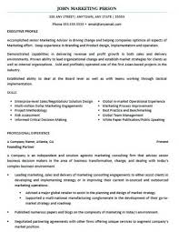 Resume Examples Marketing by Examples Rescueresumes Professional Resume Writing Services