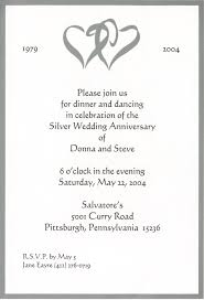 wedding invite exles 25th wedding anniversary invitation wording exles casadebormela