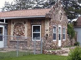 h p pederson gas station and rock garden sculptures spaces