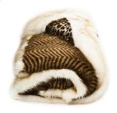 Faux Fur Throw Blanket Furniture Tiger Skin Design Faux Fur Throws