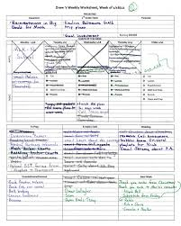 Time Management Worksheet 7 Step Prep Make A Weekly Plan For You Edutopia