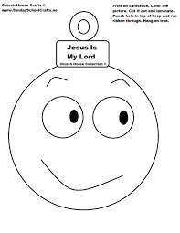jesus is my lord ornament cutout
