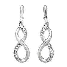 infinity earrings best diamond infinity earrings photos 2017 blue maize