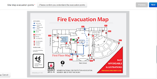 Fire Evacuation Plan Office by Office Visitors Archives Visitor Management On Demand