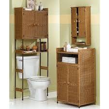Rattan Bathroom Furniture Minimalist Rattan Furniture Cabinet In Bathroom Home Decoration At