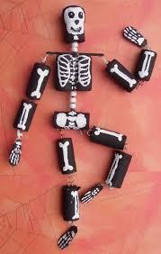 of dawn crafts halloween craft cork skeleton