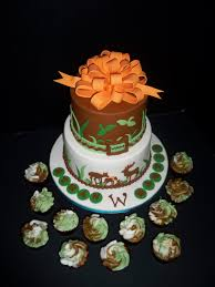 camouflage baby shower a deer camo themed baby shower cake