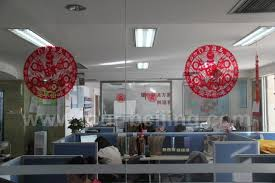 office decorations for the new year at www tour beijing