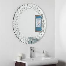 decor wonderland ssd005 circles bathroom mirror lowe u0027s canada