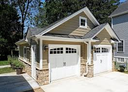 garage ideas plans detached garage ideas traditional with concrete paving two car 3
