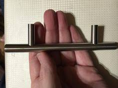 Bar Handles For Kitchen Cabinets Cosmas 701sn Satin Nickel Contemporary Cabinet Hardware Https