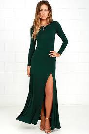 sleeve maxi dress chic forest green dress maxi dress sleeve dress 64 00