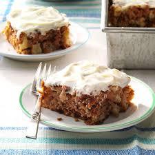 gran s apple cake recipe taste of home