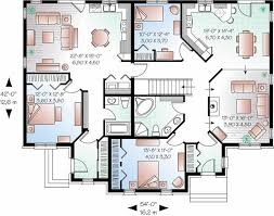 House Floor Plans With Inlaw Suite Wondrous Inspration One Level House Plans With Inlaw Apartment 9