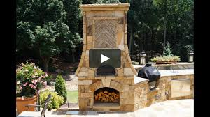 time lapse pizza oven outdoor fireplace kitchen atlanta ga part