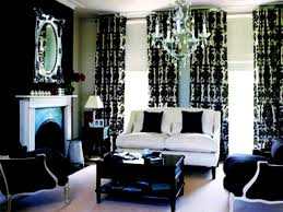 bedroom gorgeous black and white living room interior design