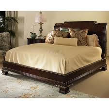 century wellington court california king platform bed with bun
