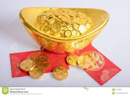 new year gold coins new year gold coins stock photo image 65749081