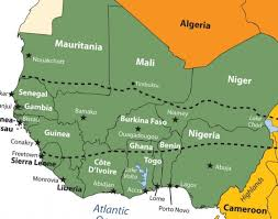 africa map countries and capitals what is the list of west countries their capitals and