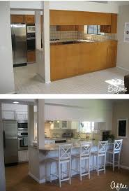 diy kitchen remodel ideas 20 small kitchen renovations before and after diy design decor