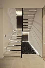 contemporary staircase design in s house turkey interior