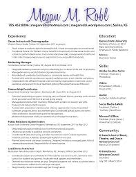 professional dance resume 100 dancers resume dancer resumes with education http