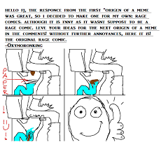 Memes Rage Comics - origen of the meme 2 the rage comic