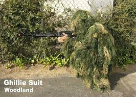 Ghillie Suit Halloween Costume Professional Grade Sniper Simulation Camouflauge Ghillie Suit
