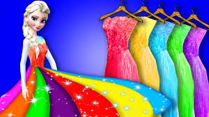 colorful dress frozen elsa s colorful dress from by