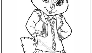 alvin chipmunks valentines coloring pages