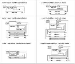 fluorescent light ballast wiring diagram u2013 schematics and wiring