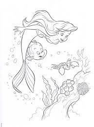 little mermaid 2 coloring pages little mermaid coloring pages