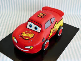 lightning mcqueen cake 8 do it yourself cars cakes photo cars lightning mcqueen birthday